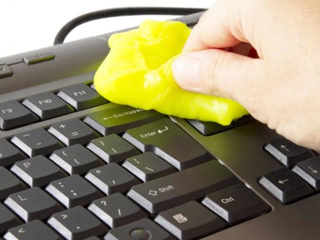 Como limpiar el teclado de la PC