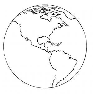 Como Desenhar Um Desenho Do Planeta Terra (Muito Fácil