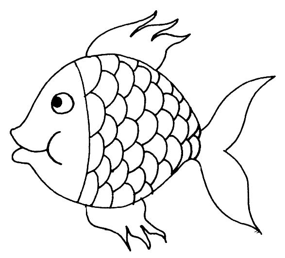 Imagens De Peixes Para Imprimir E Pintar