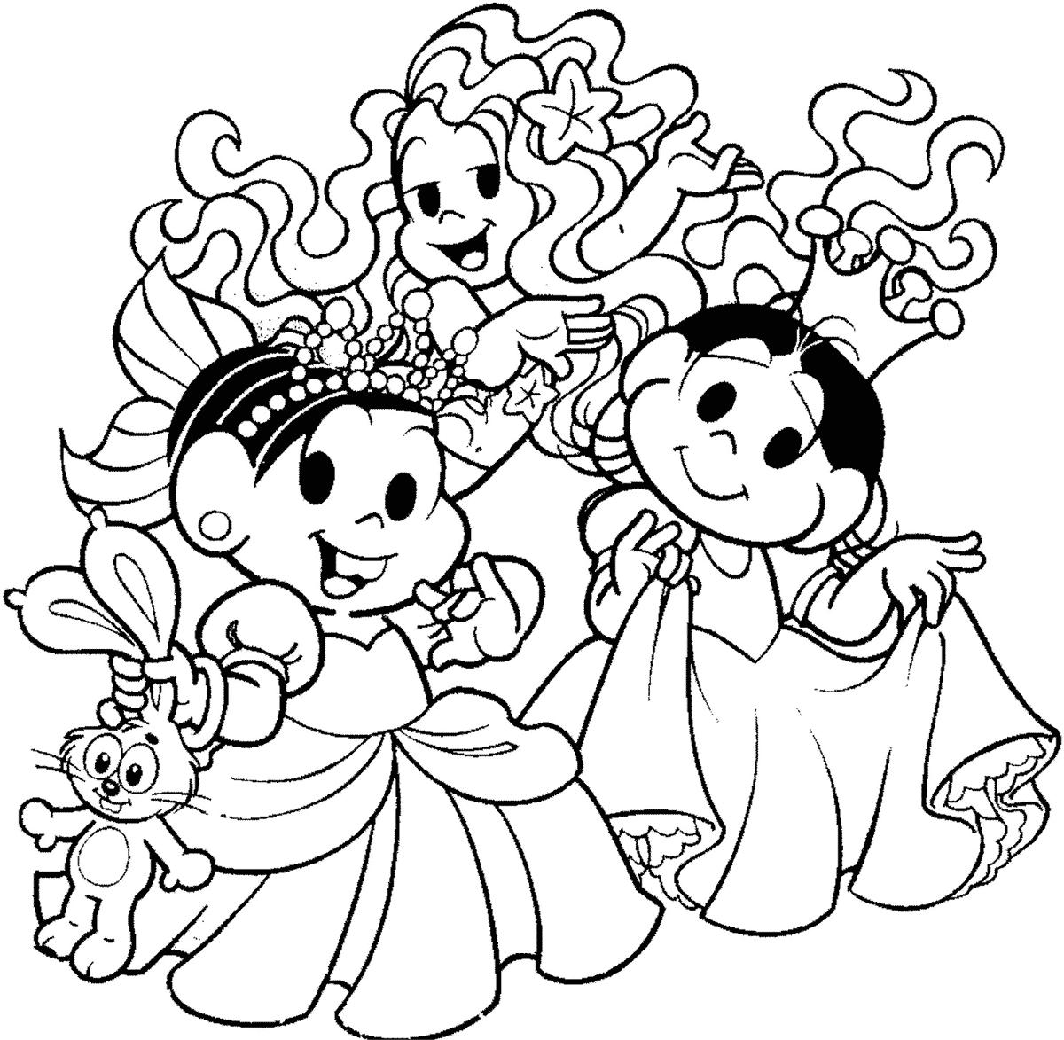 Princesas para Colorir e Imprimir  Muito Fcil  Colorir