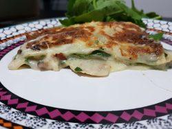 receta de lasaña de espinacas