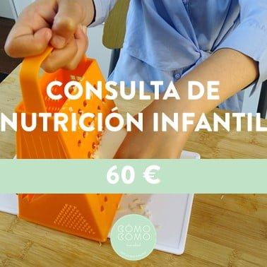 CONSULTA DE NUTRICIÓN INFANTIL