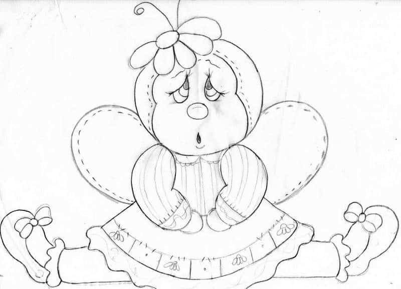 Moldes Em Desenhos Para Pano De Prato Para Imprimir