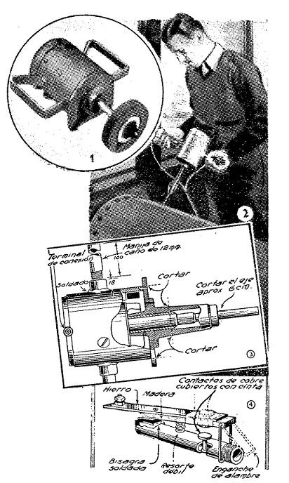 como hacer un taladro casero taladro mecanico o manual