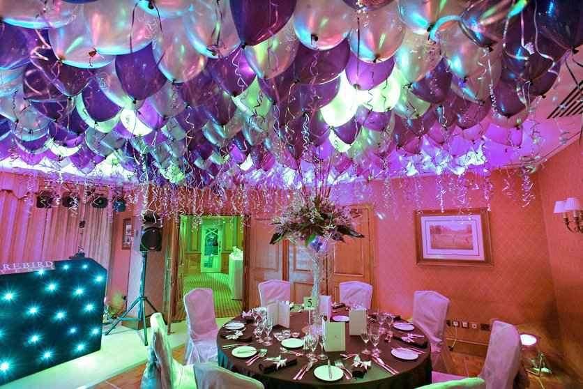 como decorar con globos para 15 aos con fabulosas y sencillas ideas