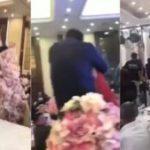 El suegro besó a la novia a la fuerza en plena boda y desató una batalla entre las familias