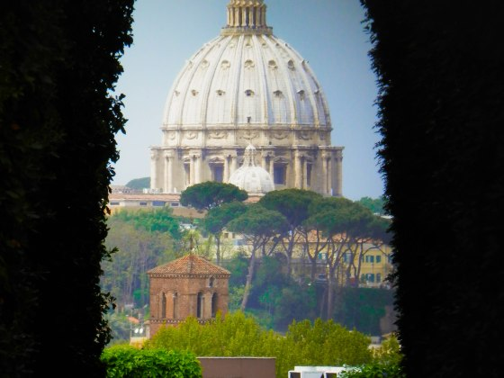vistas cupula basilica san pedro roma