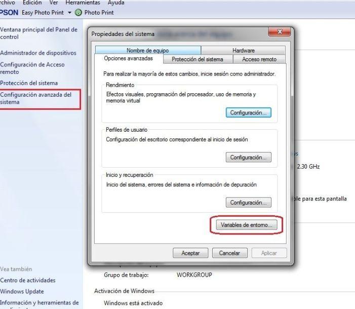 variables de entorno jdk windows