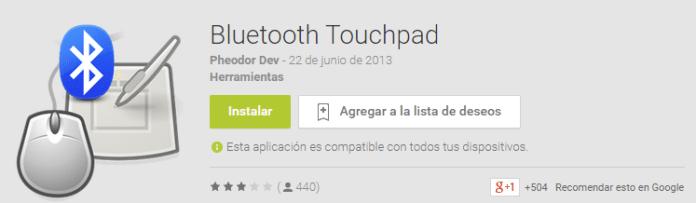Convertir tu Android en un ratón y teclado inalámbrico
