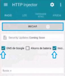 internet gratis android con servidor ehi bitel