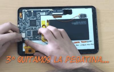 Como reparar pantalla tablet android