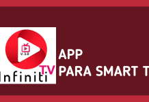 como descargar app infinity tv en smart tv panasonic lg hisense