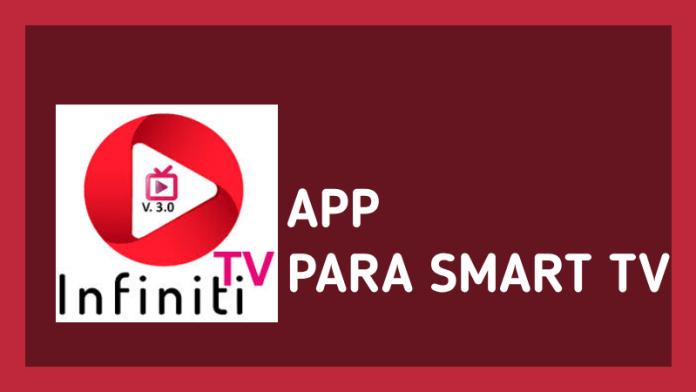 como descargar app infinity tv en smart tv panasonic lg hisense