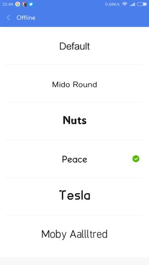 cambiar la tipografia en xiaomi miui 8 sin root instalar fuente