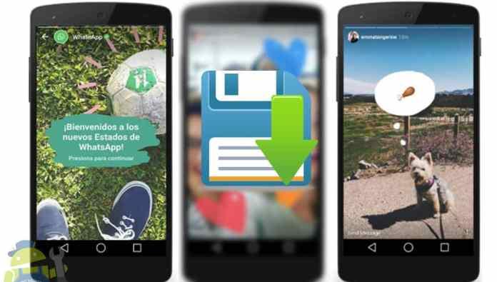 como descargar historias de instagram y whatsapp en android sin root