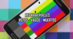 como reparar los pixeles muertos malogrados en android pc