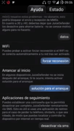 configurar juice defender ultimate android