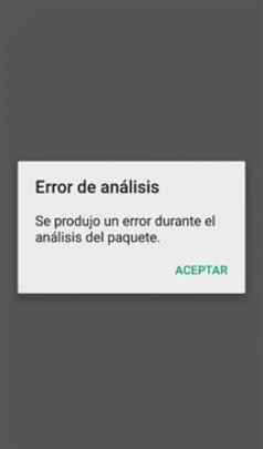 error-de-analisis-de-datos-en google chrome