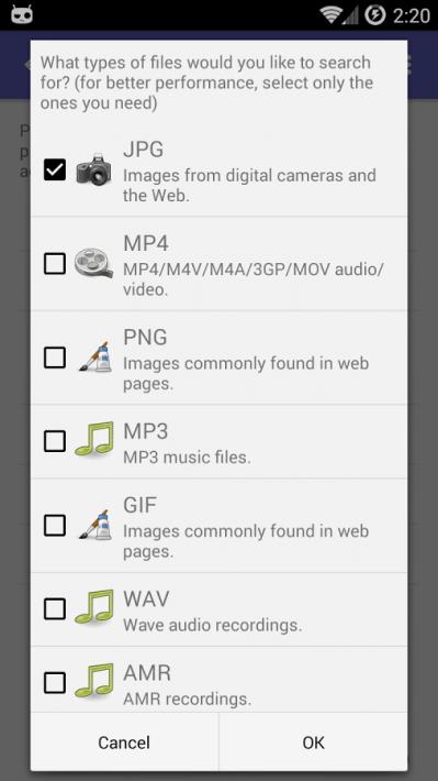 lg k10 recuperar archivos eliminados micro sd