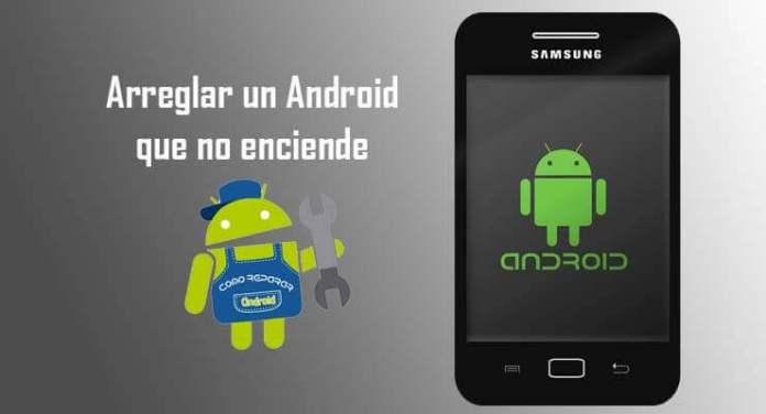 reparar arreglar un android que se queda en el logo