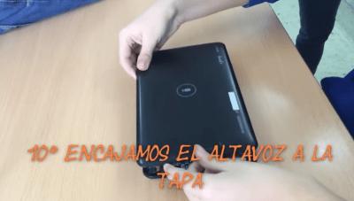 solucion reparar pantalla tablet android