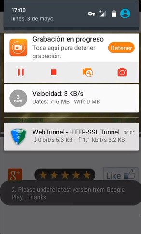 web tunnel vpn internet gratis para entel