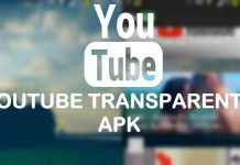 youtube transparente apk 2018 ultima version lite no root andorid pc