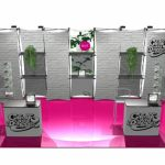 Xpressions 20′ displays for trade show is creative and out of the box solution