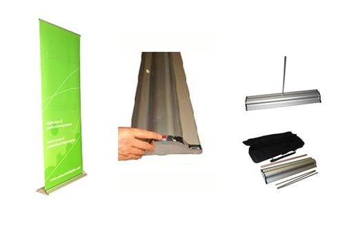 Qbug Banner Stand - Signage Services