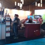 Kiosks with panoramic displays 2