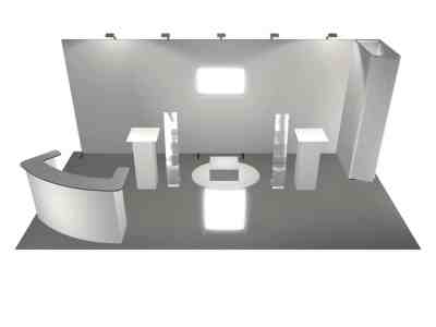 Panoramic 10x20 front v4 Exhibit or Display Rental