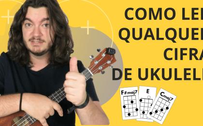 como ler cifras de ukulele