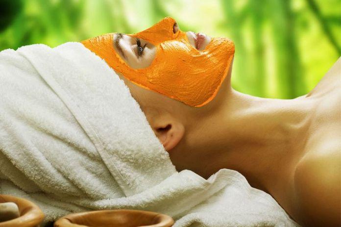 Mascarilla facial de calabaza
