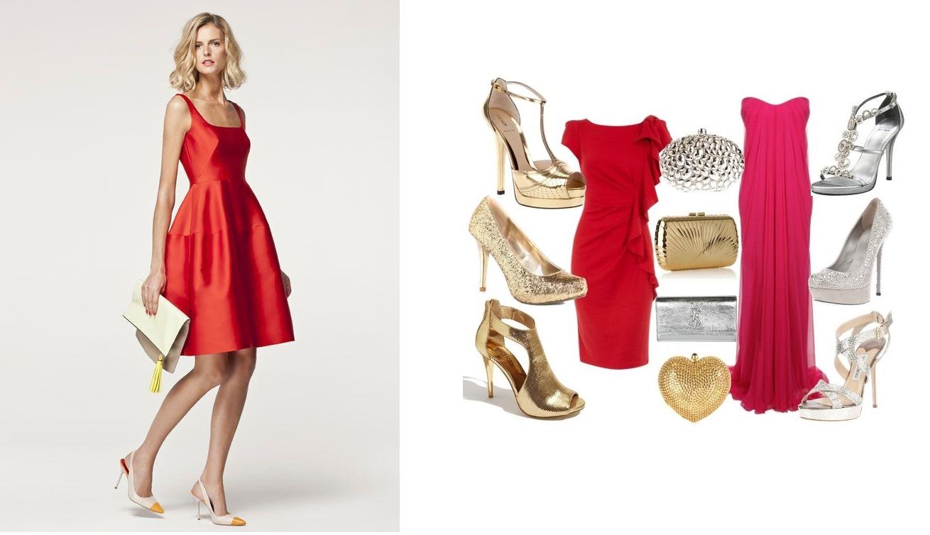 Ideas Para Poder Combinar Un Vestido Rojo