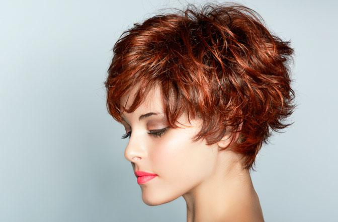Peinado Pixie corto