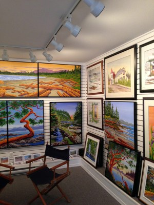 Interior Shot - Joe Smith's Studio, Union Bay
