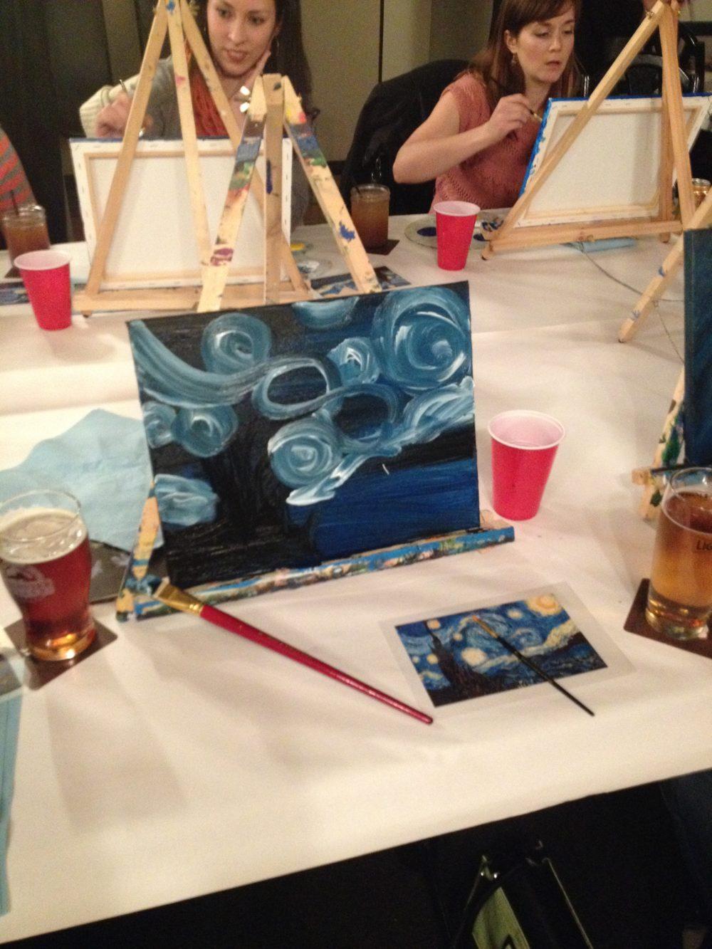 Art & Ale - Paint Like Franklin Carmichael