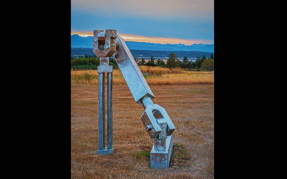 The Jeffrey Rubinoff Sculpture Park - Hornby Island - Opening