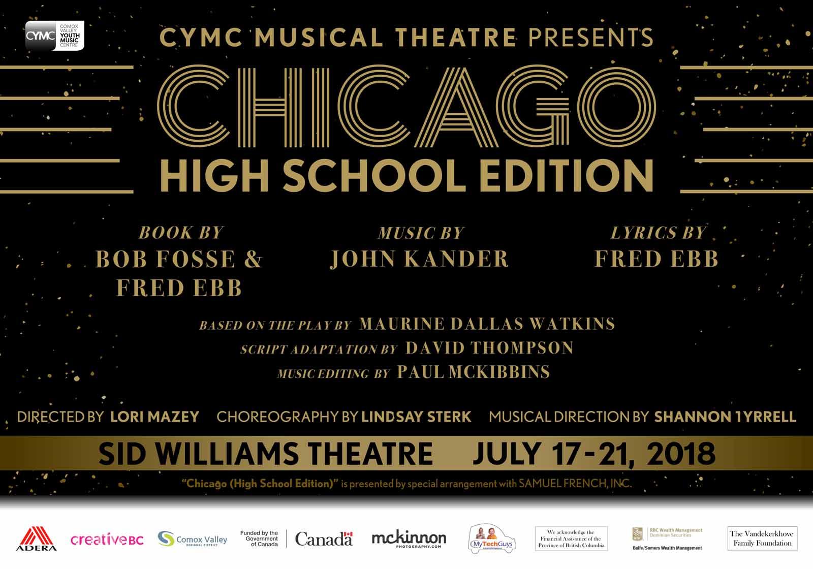 CYMC Presents Chicago - The High school Edition