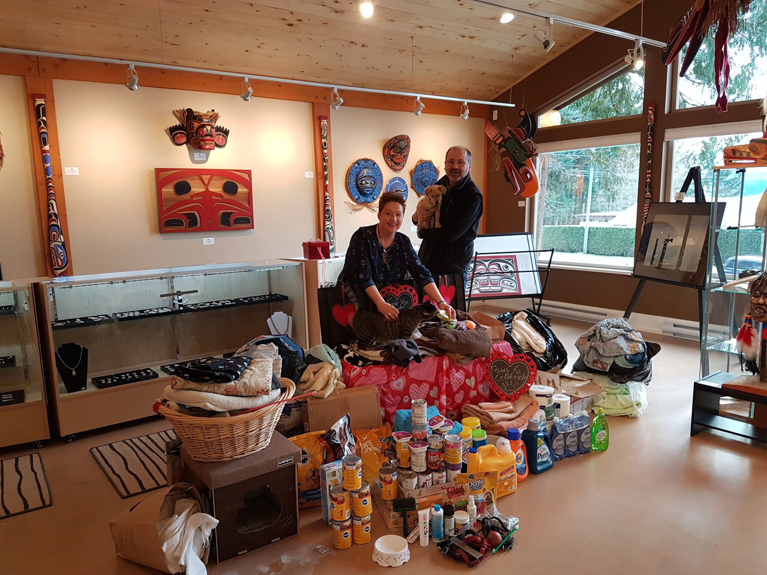 Material Donations Drive for the Comox Valley SPCA