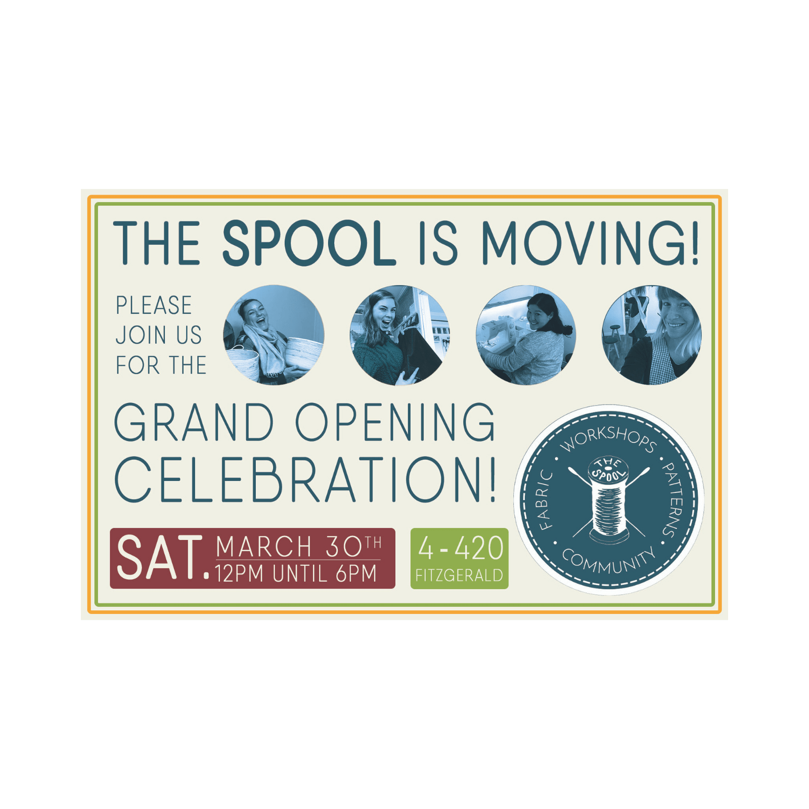 The Spool\'s Grand Opening