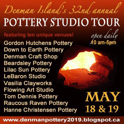 2019 Denman Island Pottery Studio Tour