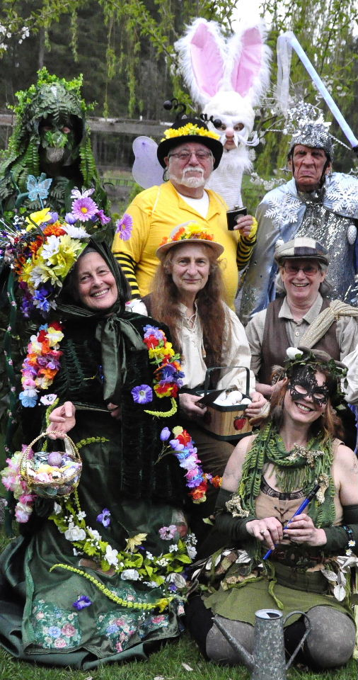 MALARKEY MUMMERS present our seasonal play JACK IN THE GREEN! Free Entertainment for All!