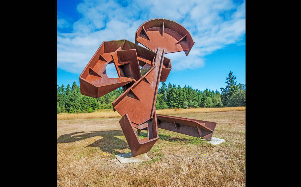 The Jeffrey Rubinoff Sculpture Park - Hornby Island - Opening