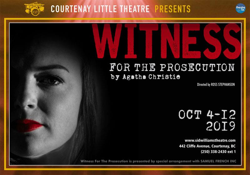 CLT presents Witness for the Prosecution by Agatha Christie
