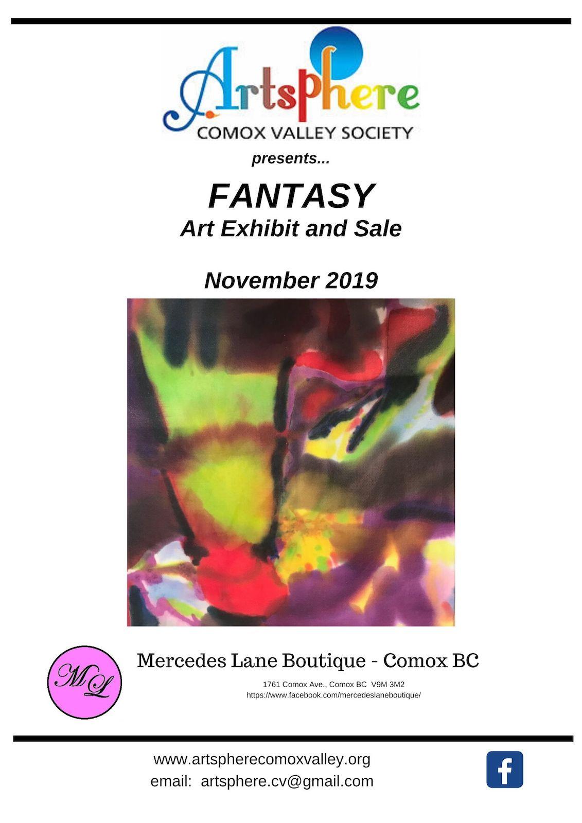 Fantasy Art Exhibit & Sale - Squared