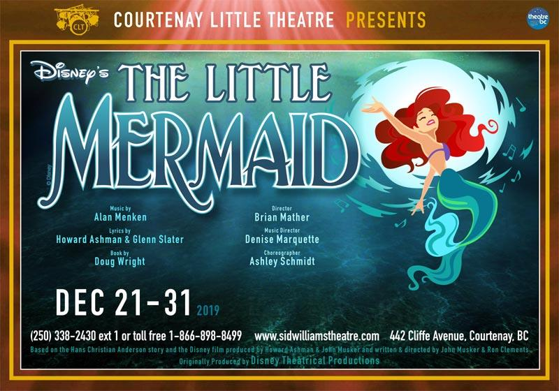 "CLT presents ""Disney\'s The Little Mermaid\"" LIVE ONSTAGE"
