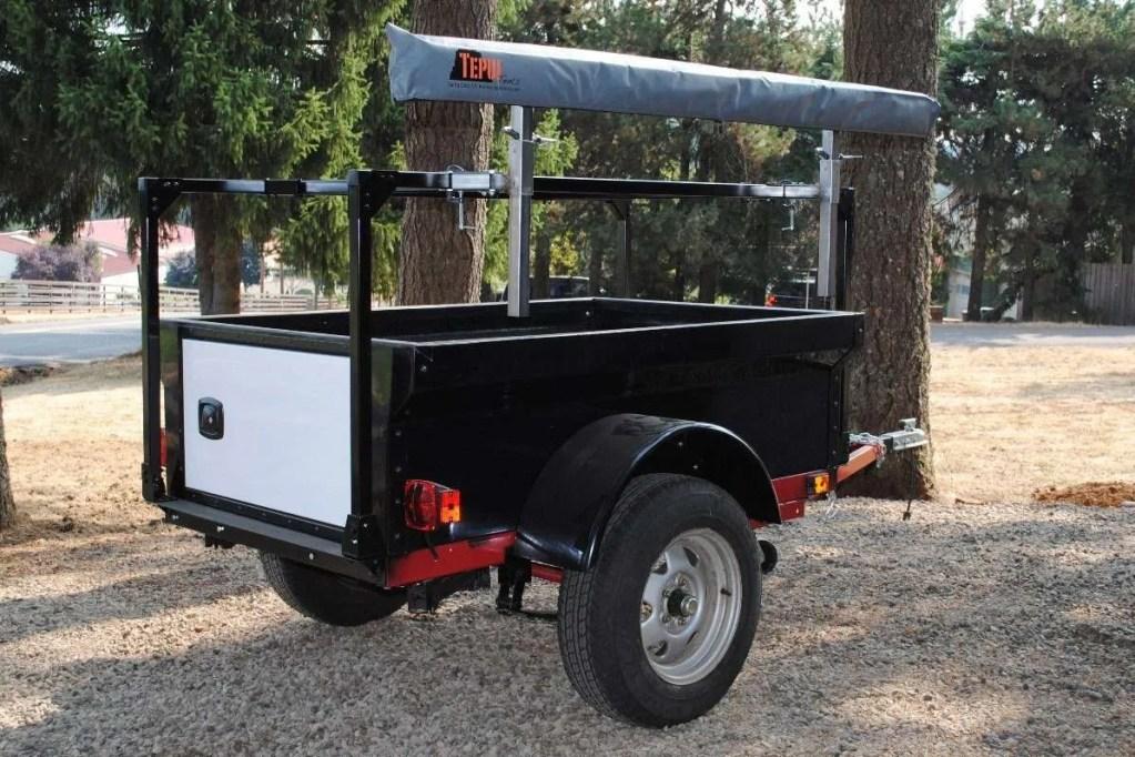 Trailer Awning Rack Compact Camping Racks Made in USA