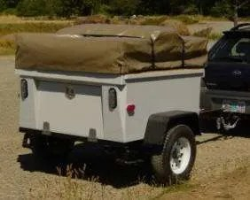 M416 Trailer by Dinoot Trailers Compact Camping