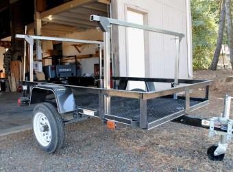 Trailer Rack Steel Tubing Compact Camping